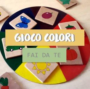 Gioco colori cerchio cromatico- istruzioni e forme da scaricare