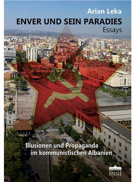 Buchcover Schriftsteller aus Albanien Arian Leka