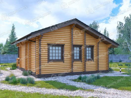 Деревянный дом 10х8.1 ДО-161