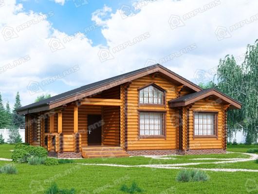 Деревянный дом 12х11 ДО-165