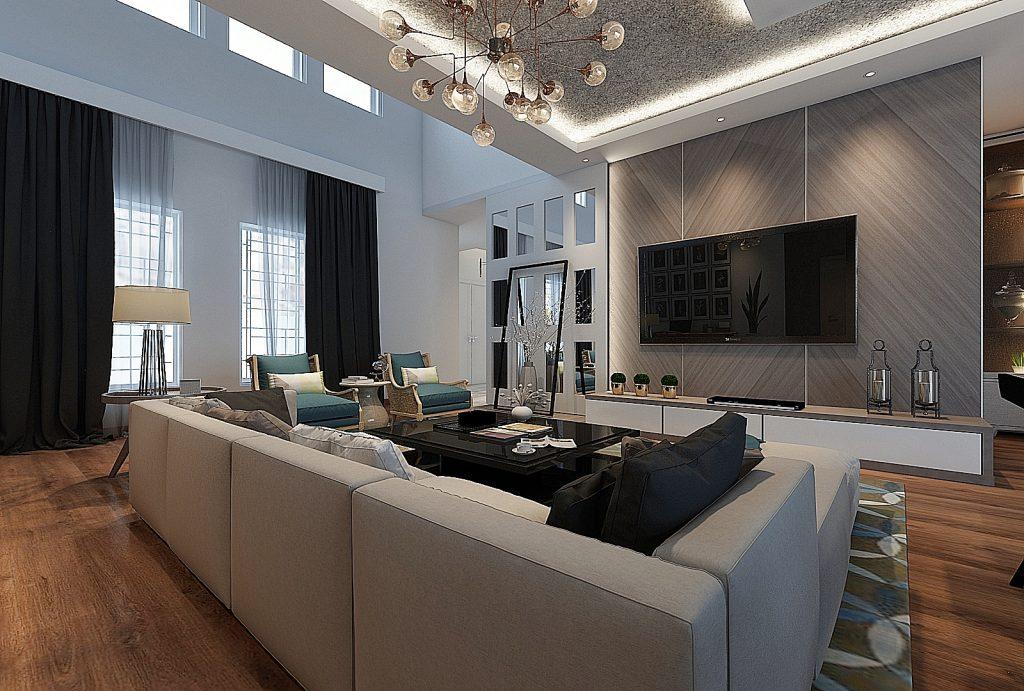 Desain Interior Rumah Minimalis Modern Arte Living Interior