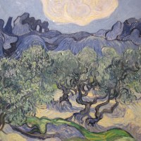As Oliveiras - Van Gogh