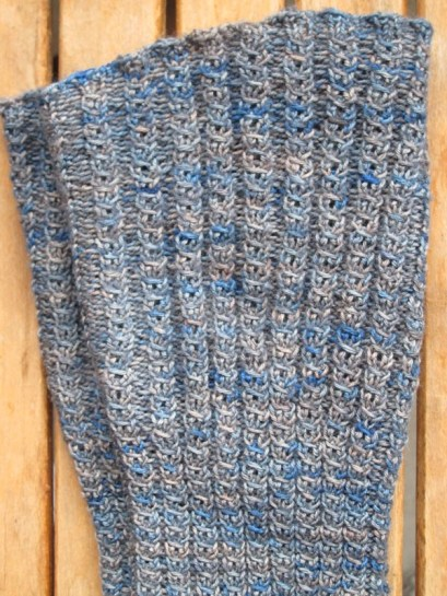 Kiak knitted legwarmers, by Lisa Risager, Artemis Adornments