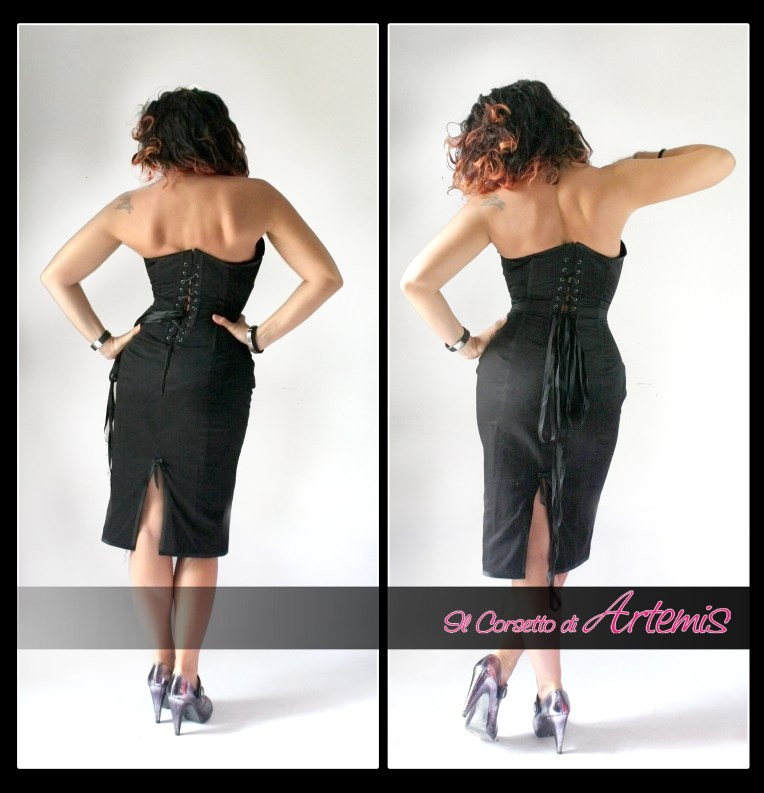 Corset Dress Back