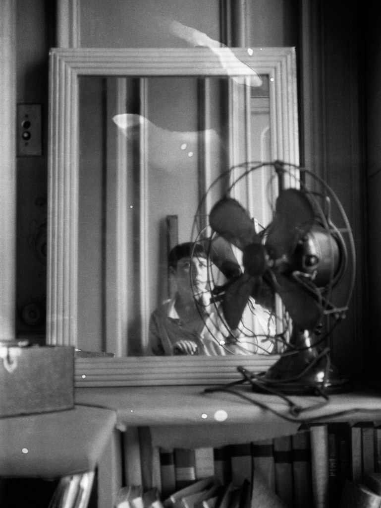 Autoportrait au ventilateur, Anfang der 1930er-Jahre