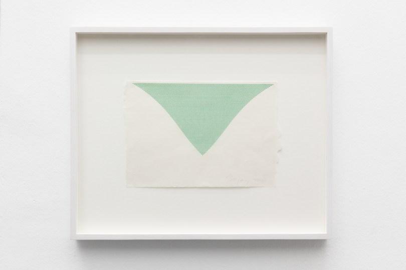 Tess Jaray, East of the West, Ausstellungsansicht  (Foto: Exile Gallery)