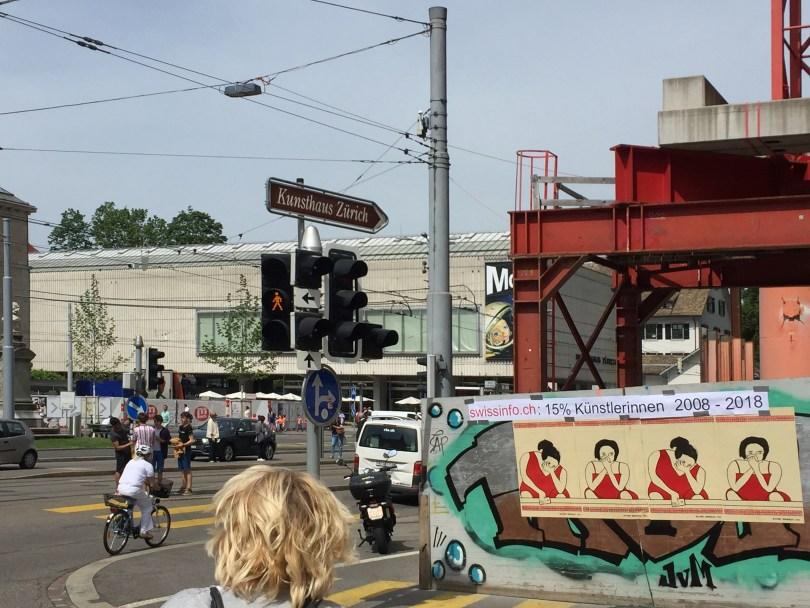 Kunsthaus-Neubau am Frauenstreiktag