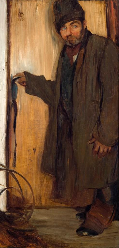 Elena Luksch-Makowsky, Der Zwerg, 1900 Foto: Johannes Stoll / Belvedere, Wien