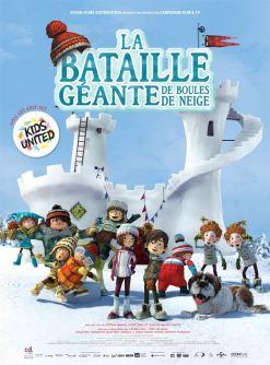 La bataille géante de boule de neige - affiche