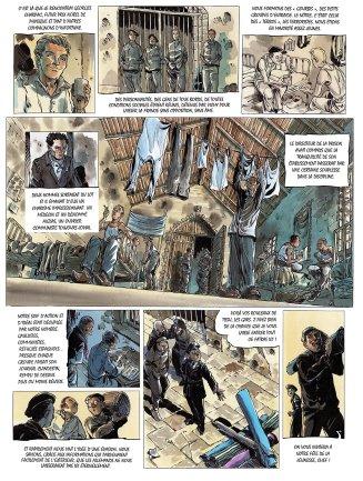 Ma guerre de La Rochelle à Dachau de Oger Tiburce et G.P. Gautier planche 2