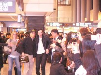Robert Pattinson à Narita