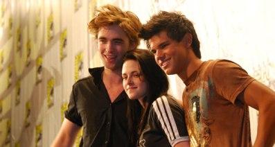 Rob, Kris et Taylor