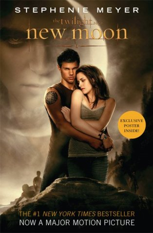 NEW MOON : LA COUVERTURE DU LIVRE VERSION FILM