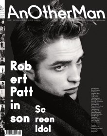 ROBERT PATTINSON POUR ANOTHER MAN