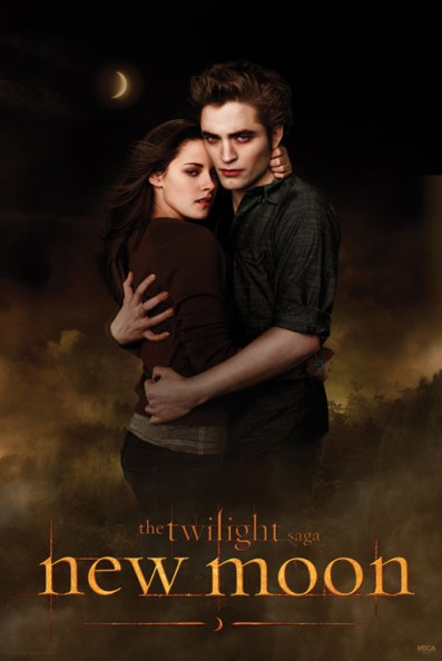 Poster New Moon Ed et Bella