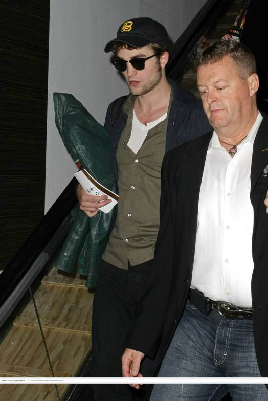 Robert Pattinson à Lax