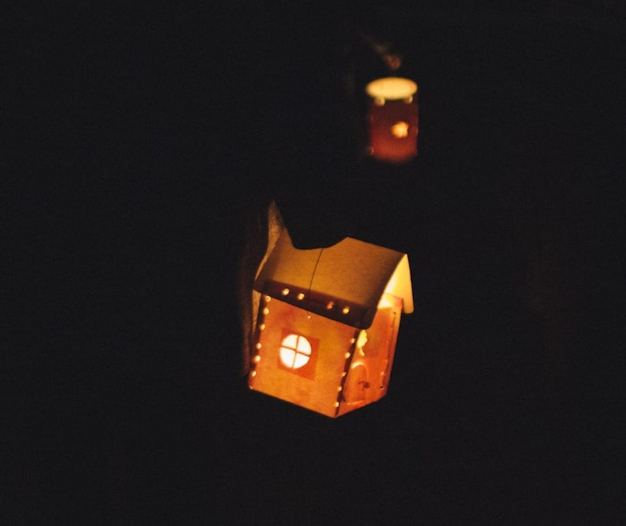 wssd kinder lantern walk house