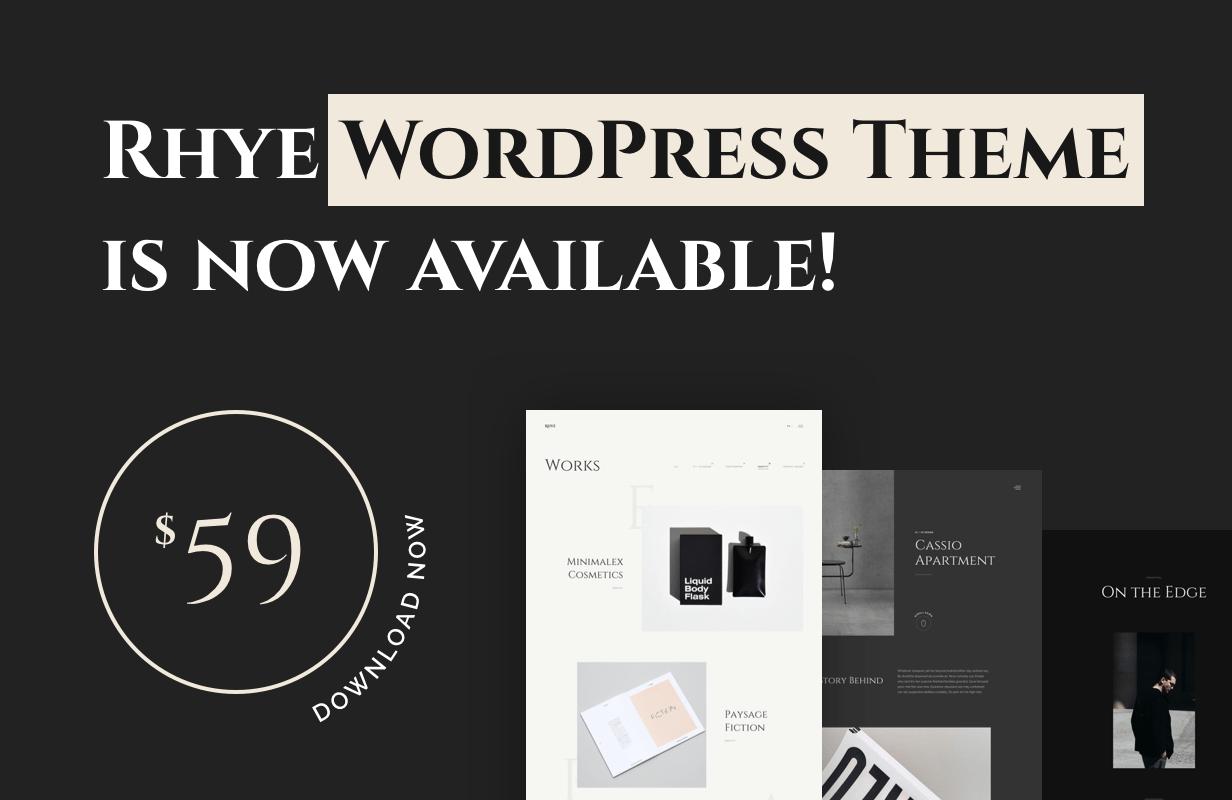 Download Rhye WordPress Theme