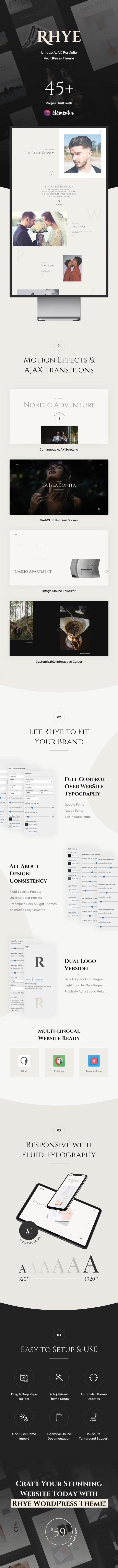 Rhye WordPress Theme