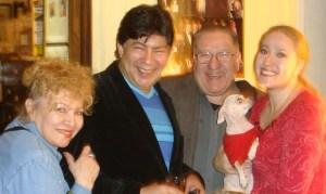 Cecill Villar, Franco Galecio, Felquin Piedra, Xiomara Hidalgo y Perlita