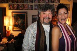 Peter Dubo y la sinigual Lumy Lizardo
