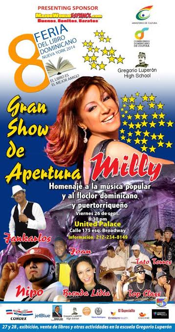 Flyer Apertura United Palace