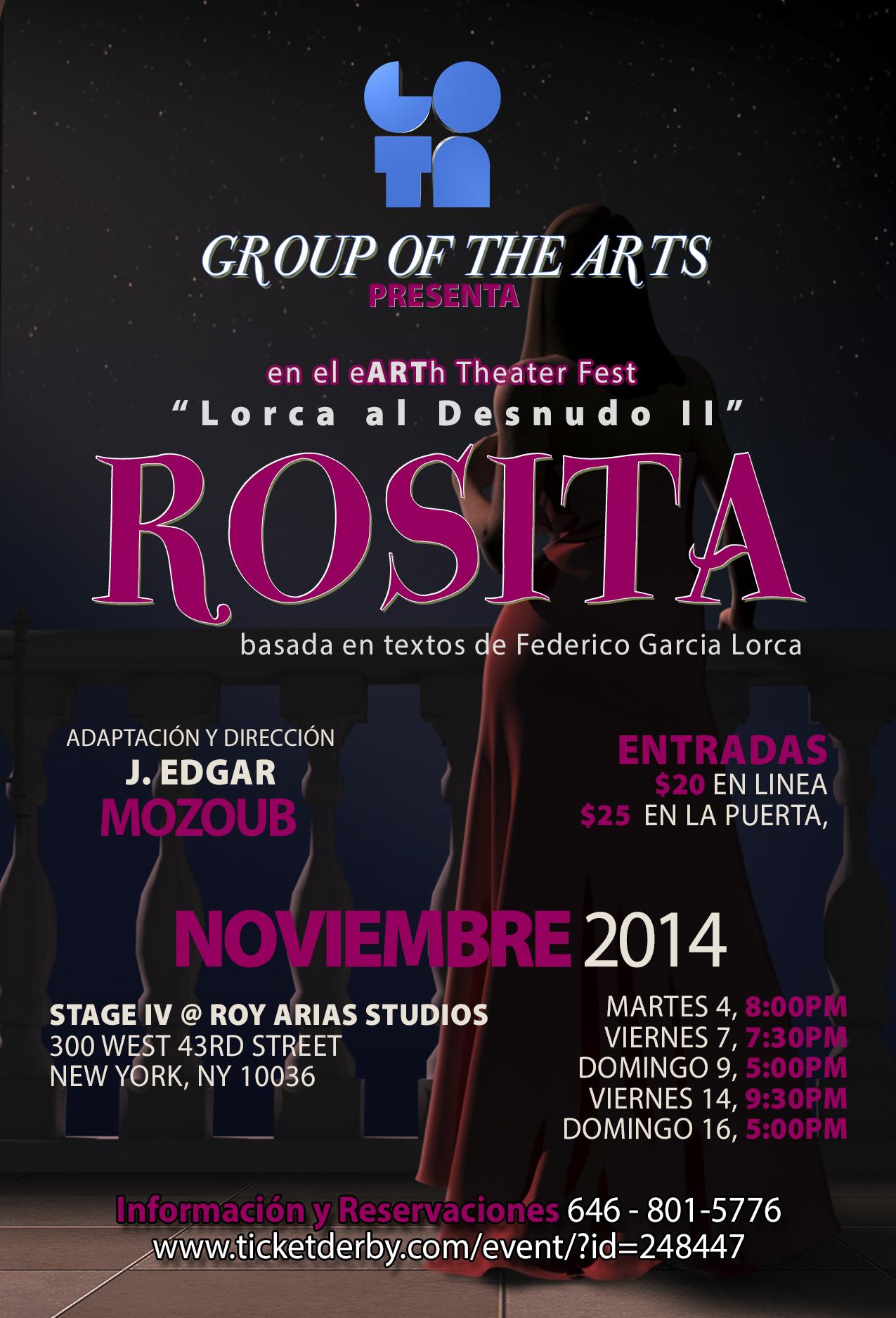 Rosita Flyer 4X6