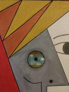David Bowie zoom ojo - Isabel Panizo