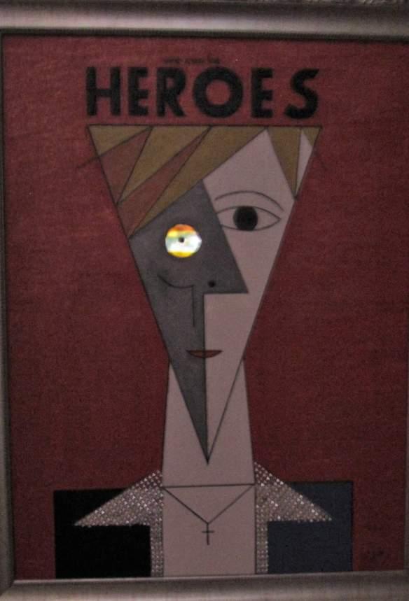 Foto en la oscuridad David Bowie