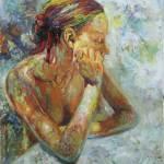 Desnudo oleo vicente impresionismo