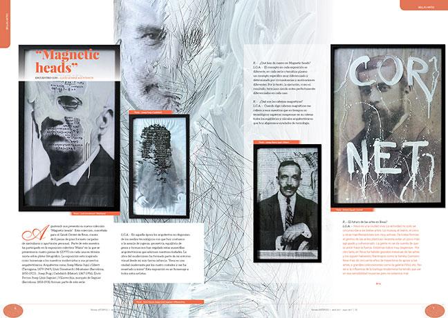 "arquitectos modernistas ""Magnetic heads"""