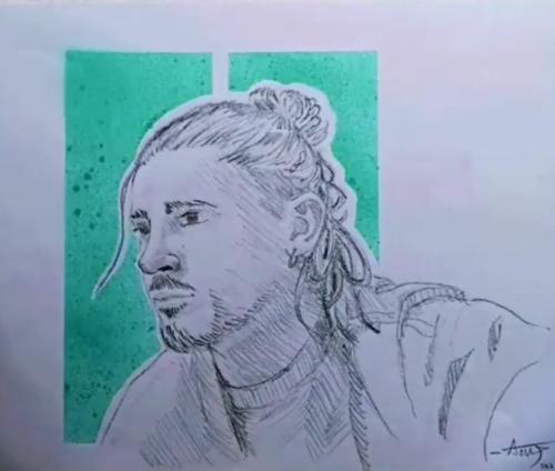 Semaine 7 - Autoportrait
