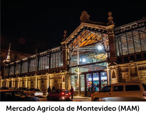 Mercado Agrícola de Montevideo, conocido como MAM