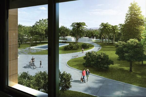 Town Park - Vista desde la Torre A
