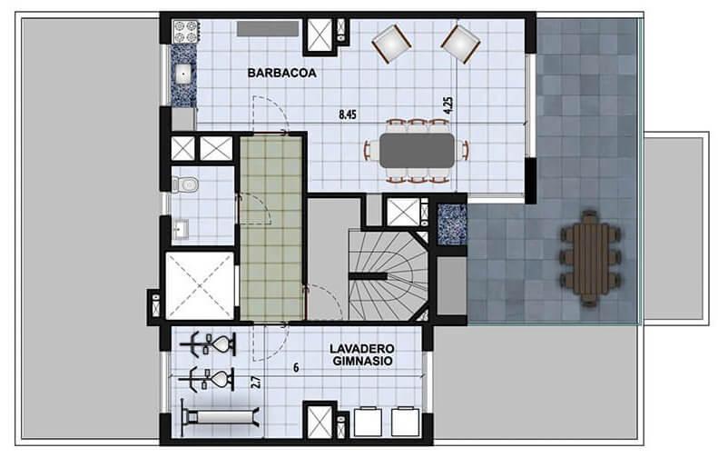 Marina W amenities