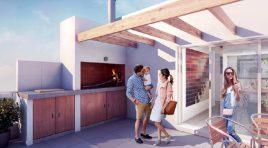 Monoambiente Penthouse ideal para Escritorio o Estudio
