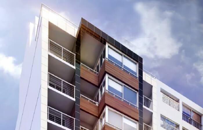 Marina 26 III Fachada 1 dormitorio penthouse