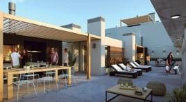 Monoambiente Terraza al frente y 51 m2 de Patio a US$ 81.0000