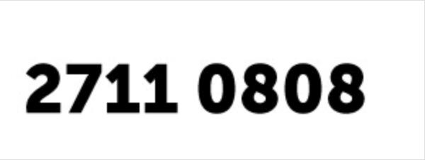 Telefono Arte 27110808