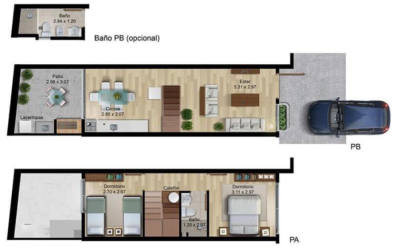 Verde Prado 2 dormitorios 002 014