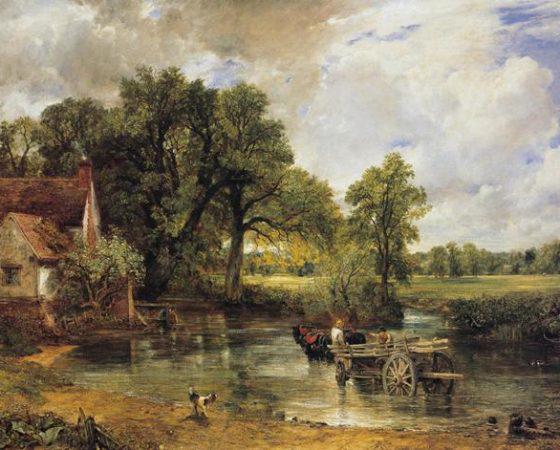 Romantismo; A Carroça de Feno (1821), de John Constable