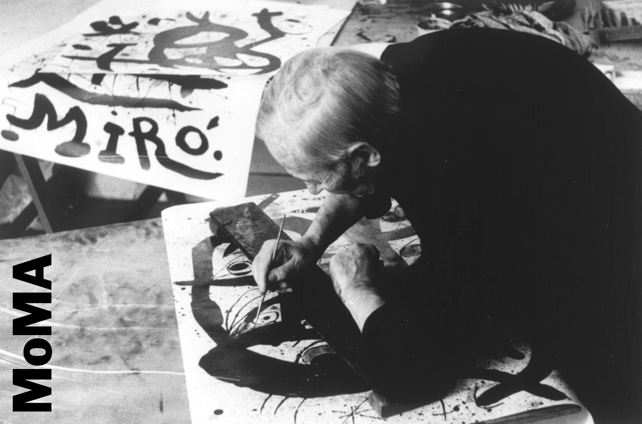 A influência de Joan Miró no Design Gráfico