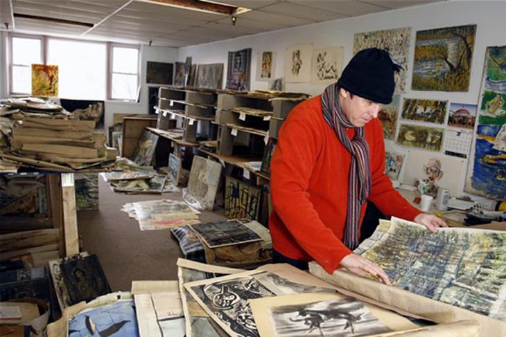 Coleção de $30 milhões foi encontrada numa garagem em Long Island.