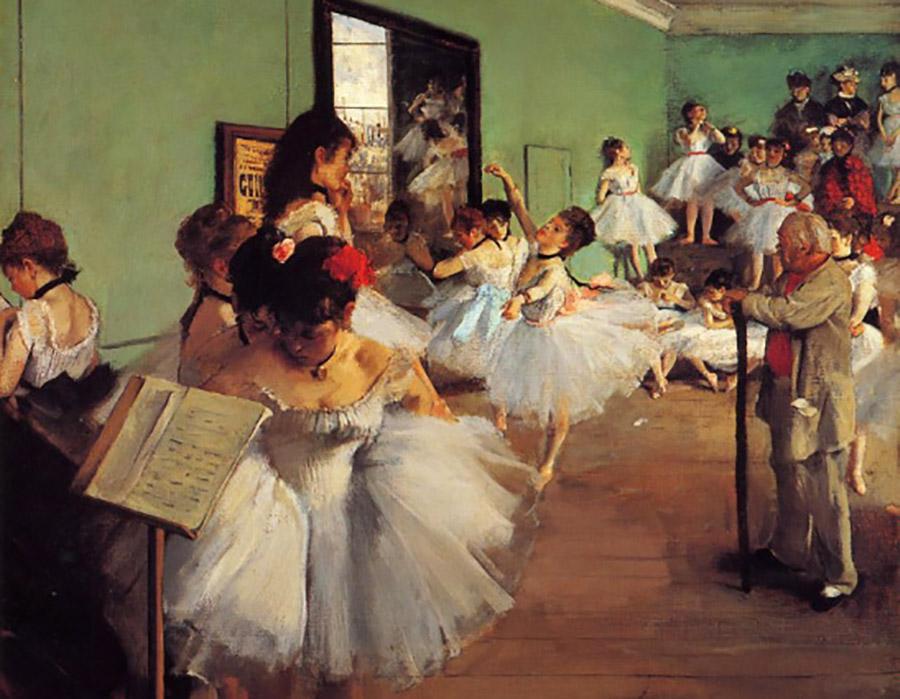 O eterno fascínio das bailarinas de Degas
