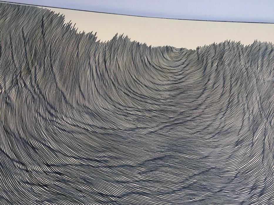 Desenhando nas paredes do museu – Our View From Here – Hirshhorn D.C.