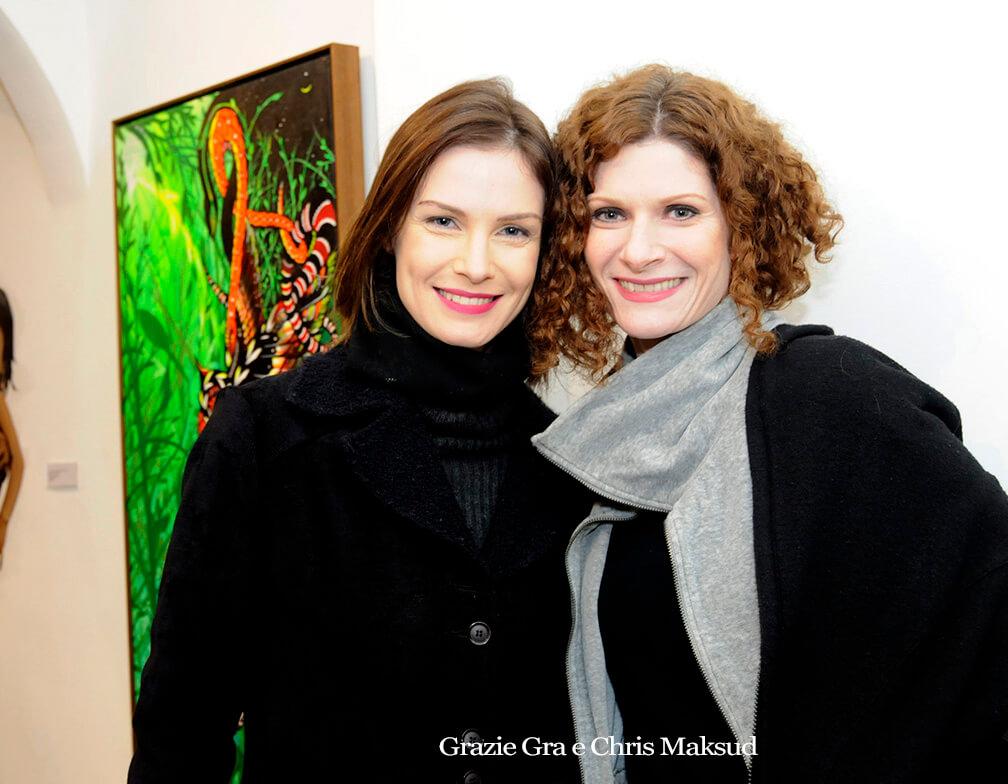 """Fotos da abertura da exposição """"Pulso"""", na Galeria Verve"""