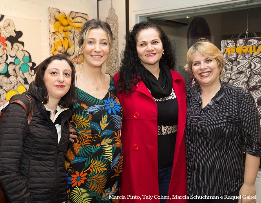 Fotos da abertura da exposição de Cohen, Chagall e Vice-Versa, na Urban Arts