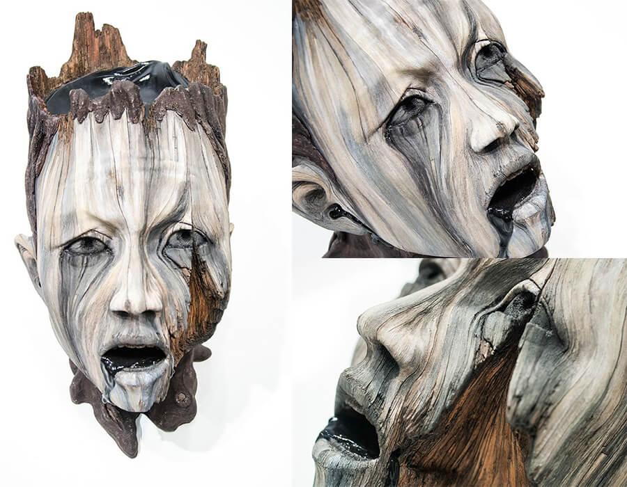 esculturas hiper-realistas Christopher White