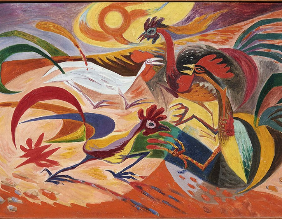 artistas surrealistas; andre-masson-900x700