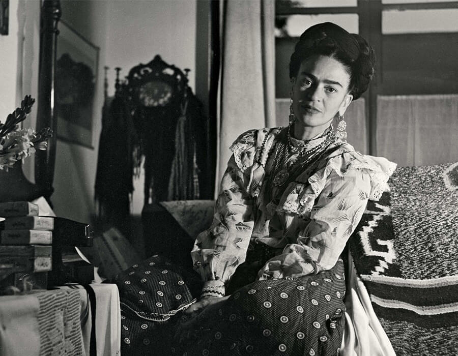 20 fotos vintage de Frida Kahlo pra você colecionar!